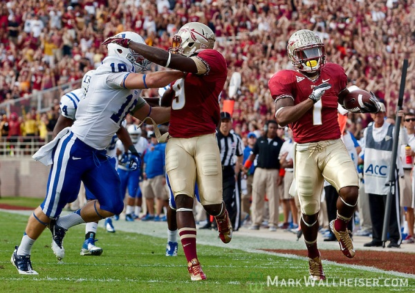 Florida State Seminoles beat the Duke Blue Devis 48-7 in Tallahassee