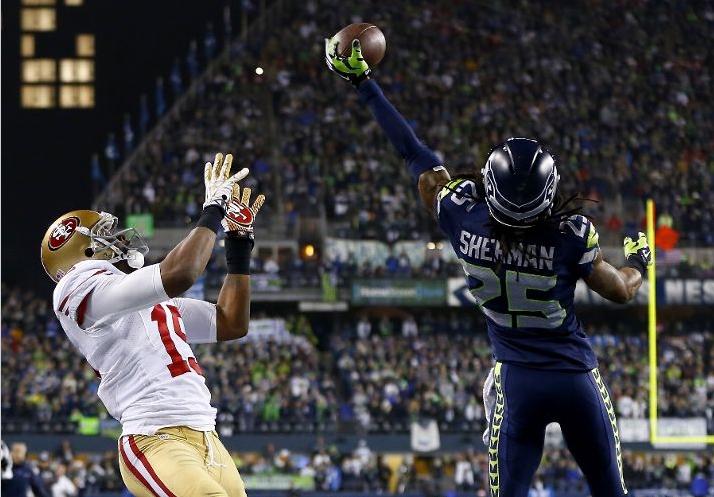 Seahawks segura rival Niners e avança ao Super Bowl 48  c5b7abdcefda1