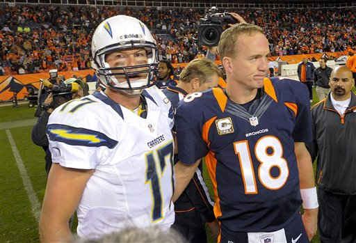 Philip Rivers, Peyton Manning