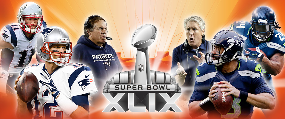 0f753bf33 Super Bowl 49 – New England Patriots x Seattle Seahawks – Diário NFL