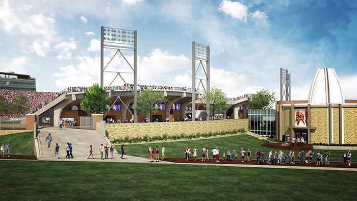 Tom-Benson-HOF-Stadium-Plaza-700