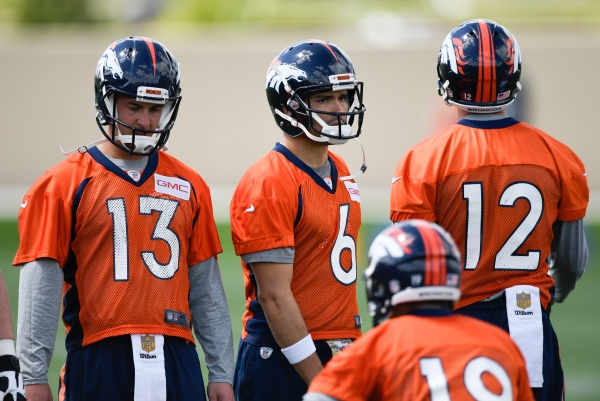 Denver Broncos OTA's at UCHealth Training Facility